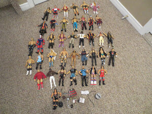 WWE WWF Classic Super Stars Wrestling Action Figures Lot 39