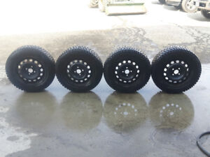 4 Pin Laufenn Winter Tires - 185/65 R14 - Only used for about 5k