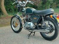 1980 TRIUMPH BONNEVILLE T140E. STUNNING ONE OFF CLASSIC. DELIVERY AVAILABLE