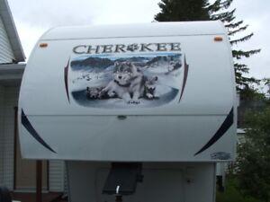 Caravane à sellette Cherokee 285B