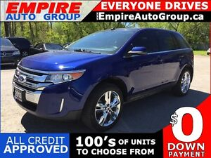 2013 FORD EDGE LIMITED * AWD * LEATHER * SUNROOF * NAV * REAR CA