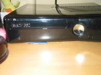 X box 360 250 GB 3 controllers and turtle beach head set