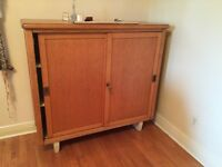 Oak Bookcase - Good Condition