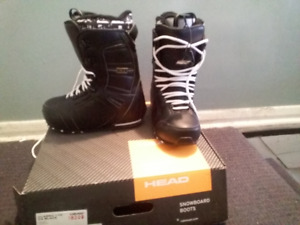 Head snowboard boots for sale size 10.5 LIKE NEW NEVER BEEN USED