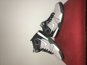 Nike Hightop Shoes (two pairs)