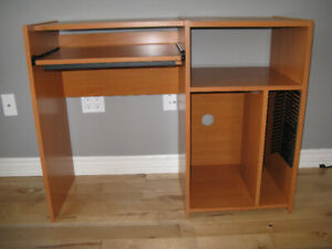 IKEA's computer desk, book case and cabinetes $20 each