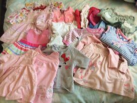 Girls bundle 0-3 months