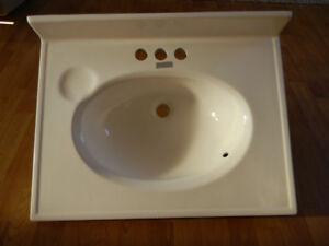 Small washroom sink (basin)