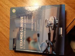 L'examen clinique 2e édition Carolyne Jarvis.