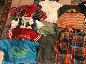 Boys clothing size 4 to 5t