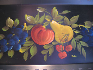 1950'S TOLEWARE FRUIT TRAY