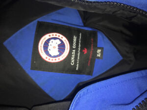 Canada Goose Chilliwack PBI Blue Youth XL