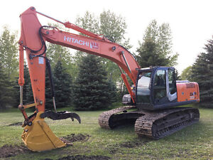 Choice of Two: 2008 Hitachi ZX200LC Or 2007 JD 270DLC