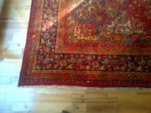 Room-size Persian wool rug