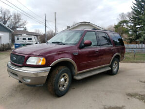 2001 Ford Expedition Eddie Bauer 8 seats!