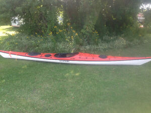 Tempest 18' Sea kayak Wilderness Systems