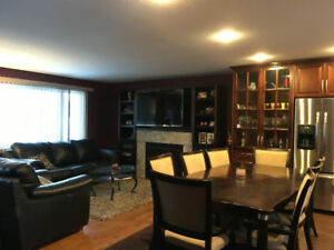 Furnished North end home, close to schools Available Nov 1