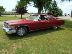 1976 Cadillac coupe de'ville for sale or parting out $1500.00