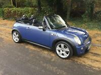 2005 MINI CONVERTIBLE 1.6 COOPER S (NEW MOT AND SERVICE INCLUDED)
