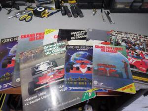 Lot de 15 Magazines - Automobiles - F1 - Montréal