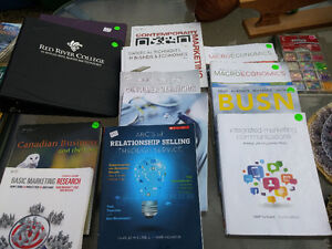 RED RIVER COLLEGE BUSINESS ADMINISTRATION TEXTBOOKS