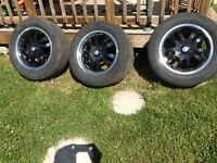 5 bolt rims with tire 215/65/18