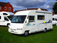 Pilote Galaxy 270 four berth A class motorhome with separate shower