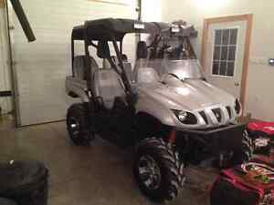 2007 yamaha rhino special edition 4 seater $8000