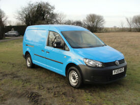 2013 VOLKSWAGEN CADDY MAXI TDI - FSH - FINANCE ARRANGED - LOW MILES @43K -