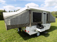 Tent Trailer Rental Hard Top Rentals Affordable Camping 10 FT