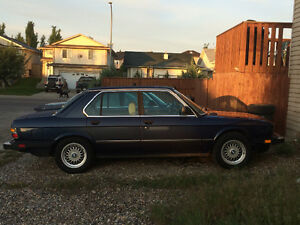 Want to buy BMW E28 parts car or parts