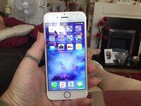 iPhone 6s rose gold 64gb unlocked ex condition