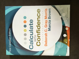 Calculate with confidence nursing textbook