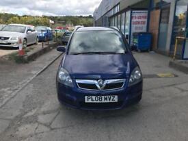 Vauxhall Zafira 1.9CDTi ( 120ps ) Breeze 7 seater - 2008 08-REG - 9 MONTHS MOT
