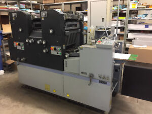 AB Dick 9995A Two Colour Printing Press