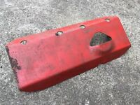 Land Rover steering guard