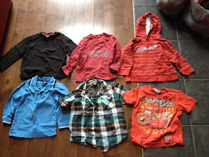 Lot of Clothes for boy 4T, contains 15 pieces