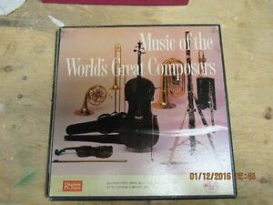 Music of The Worlds Great Composers - Readers Digest – 1959