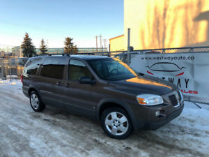 2008 PONTIAC MONTANA SV6 HAS 173243 KMS WITH REAR HEAT AND AC !