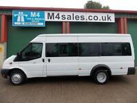 Ford Transit 135ps, 17st Minibus,tacho