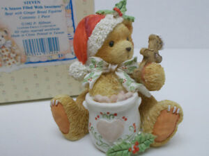 FIGURINES  -  CHERISHED TEDDIES