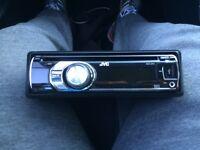 JVC Car CD/MP3 Player Aux USB