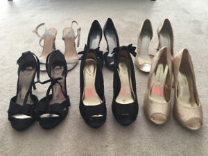 Womens high heels sizes 8, 8.5 and 9