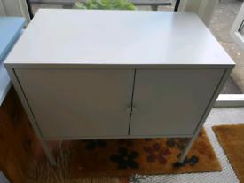 Ikea Cabinet, LIXHULT metal/grey 60x35 cm