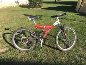 Supercycle XTI-21DS full suspension bicycle - $40 obo