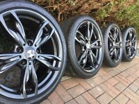 "Genuine BMW 1 2 Series 18"" 436 M Sport Alloy Wheels & Tyres F20 F21 F22 F23 135i 140i"