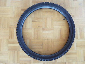 24x2.1 inch bicycle tire and tube