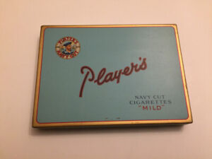 Player's Navy Cut Cigarettes Tin Imperial Tobacco Company Montre