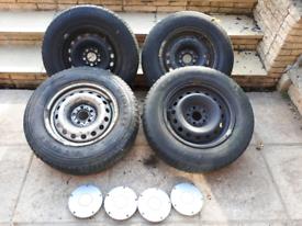Peugeot expert wheels and hub caps
