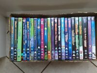 DVD bundle (Scooby-Doo, Tom & Jerry, Chuckle brothers and Simpsons)